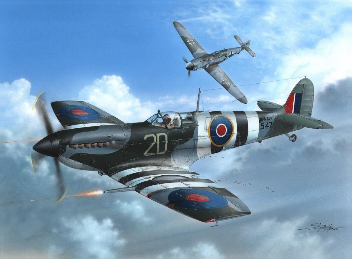 Special Hobby 1/48 Supermarine Seafire Mk.lll D-Day Fleet Eyes
