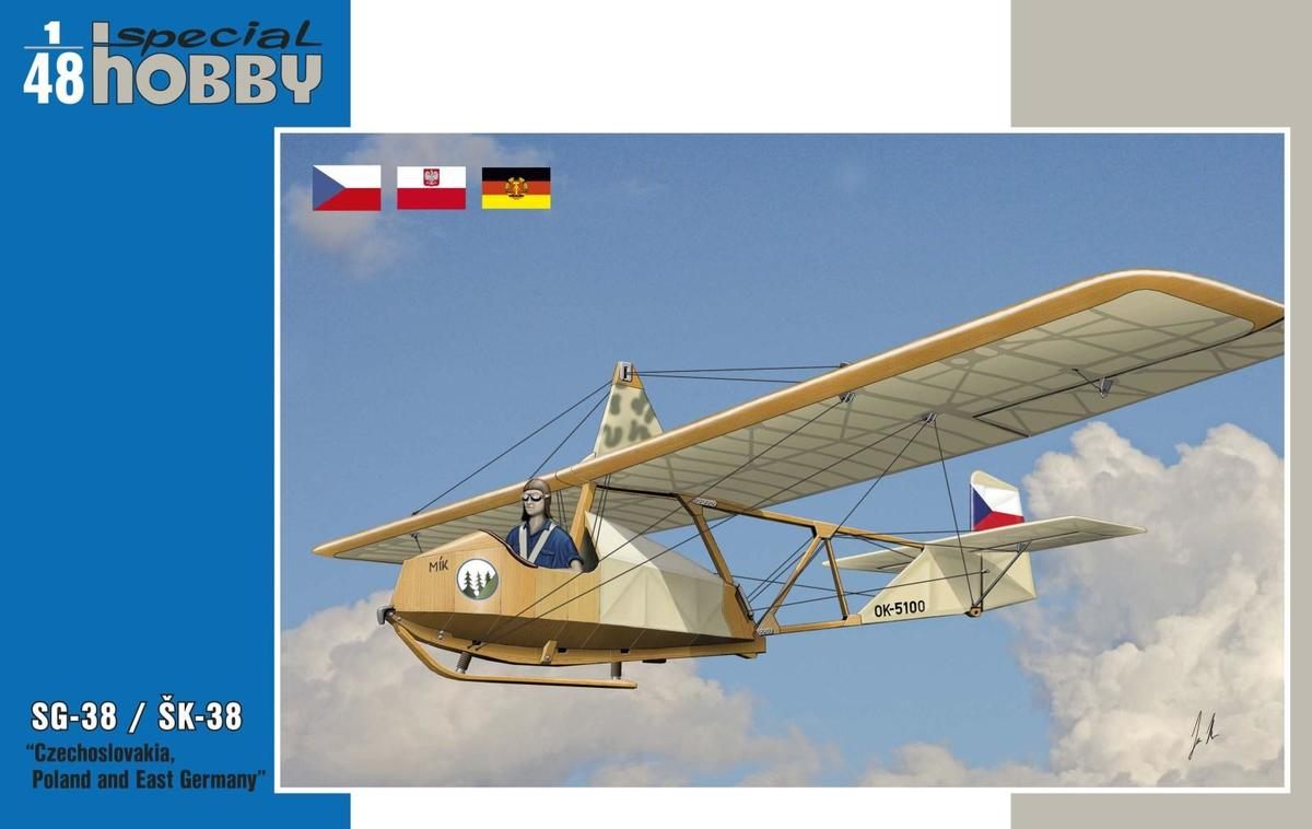 Special Hobby 1/48 SG-38 / SK-38 Czechoslovakia, Poland and East Germany