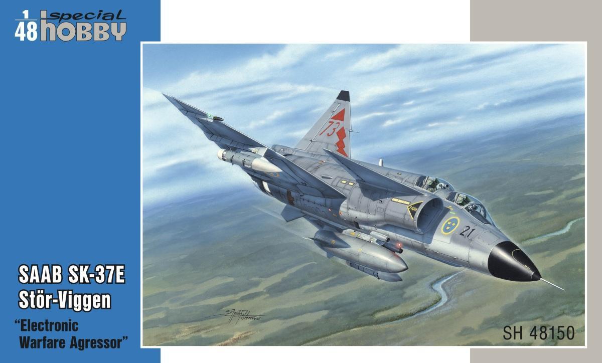 "Special Hobby SAAB SK-37E Stor-Viggen ""Electronic Warfare Agressor"" 1/48"