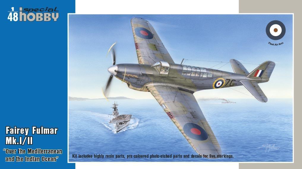 Special Hobby 1/48 Fairey Fulmar Mk.l/ll Hi-Tech Version