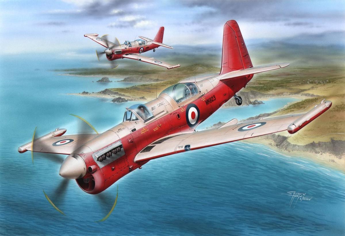 Special Hobby 1/48 Fairey Firefly U.8 Drone Version