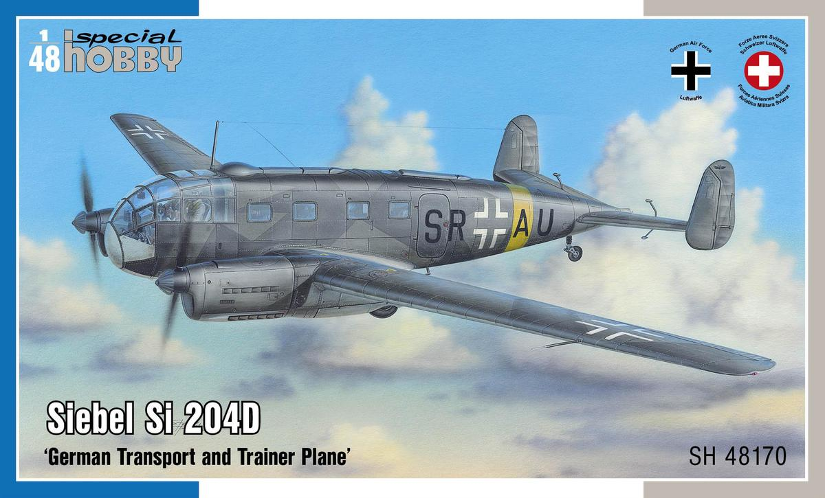 Special Hobby Siebel Si 204D 'German Transport and Trainer Plane'