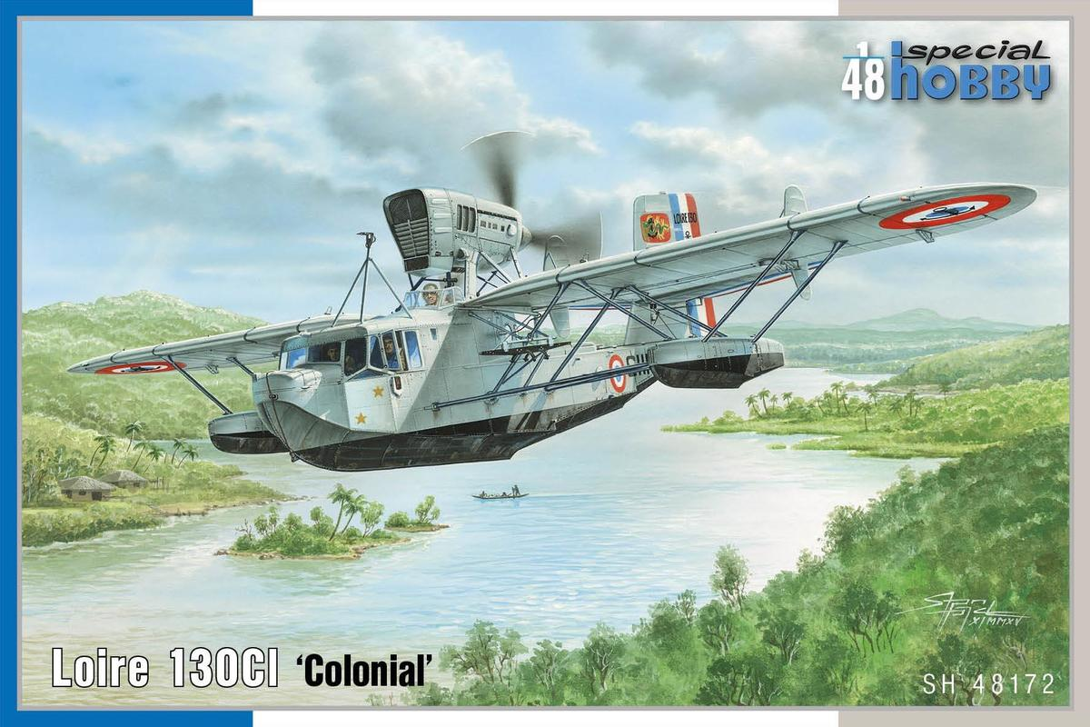 """Special Hobby Loire 1300 """"Colonial"""" 1/48"""