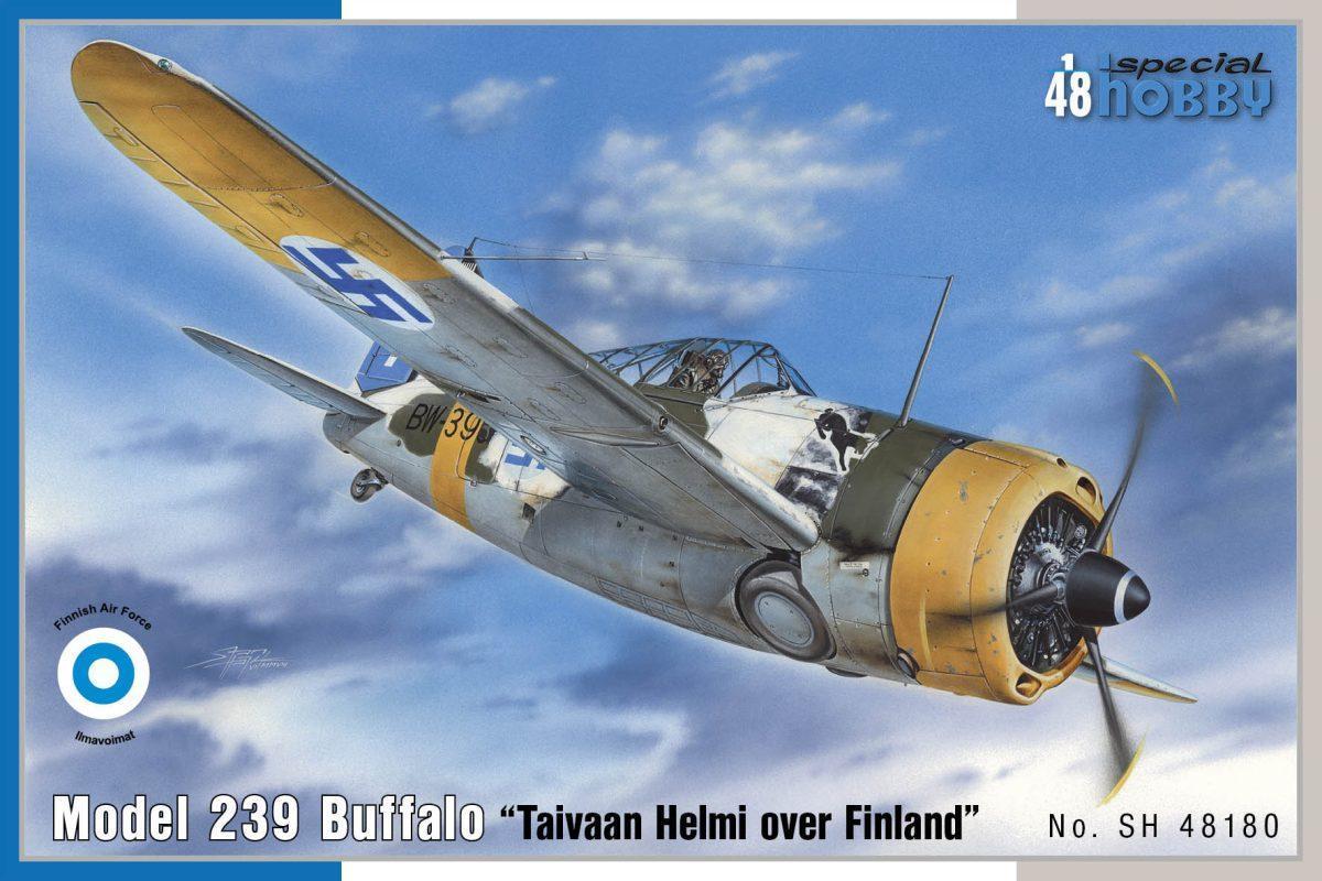 """Special Hobby Model 239 Buffalo """"Taivaan Helmi over Finland"""" 1/48"""