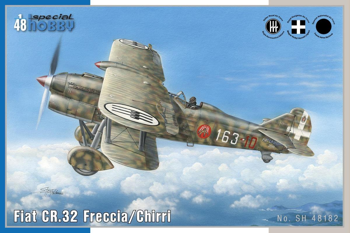 Special Hobby Fiat CR.32 Freccia/Chirri 1/48