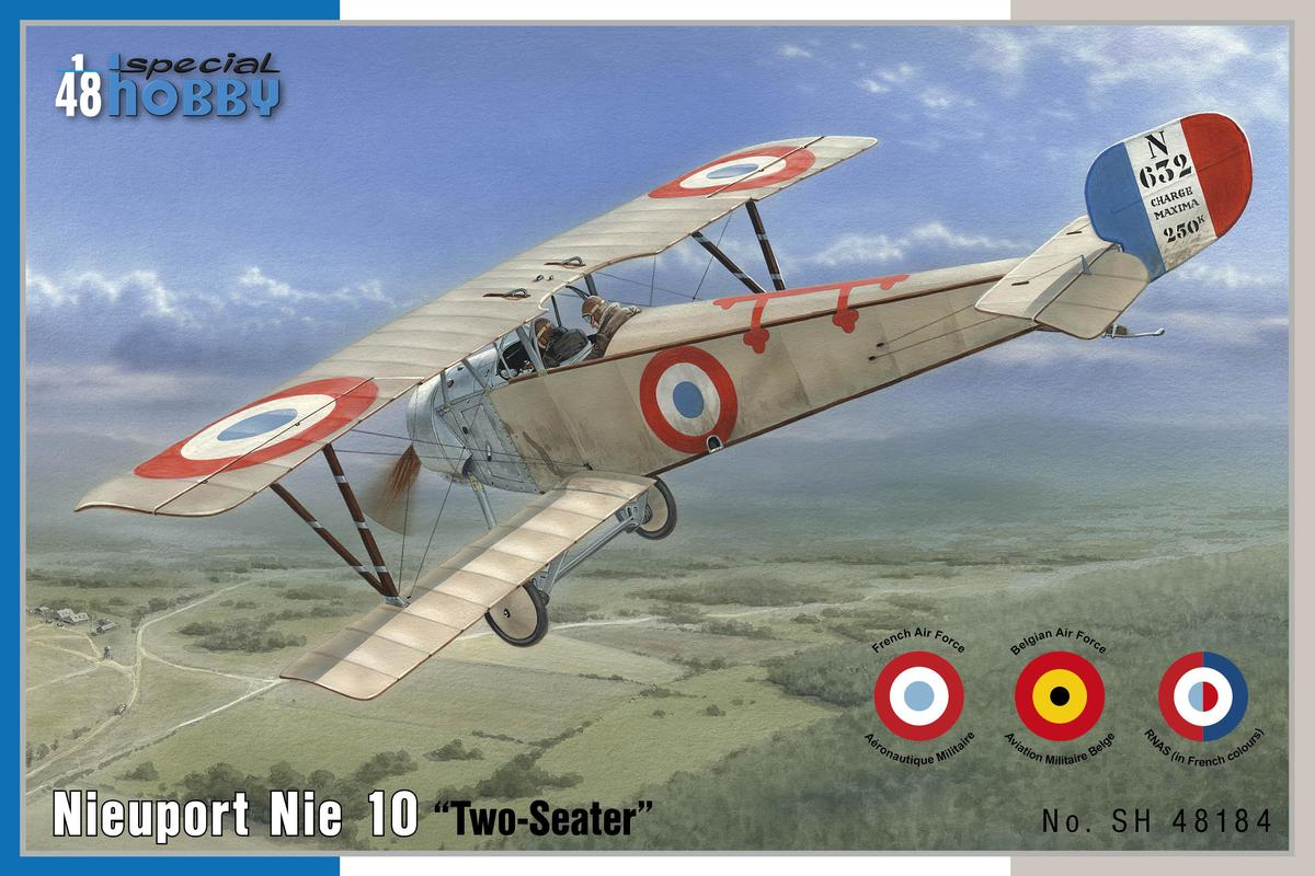Special Hobby 1/48 Nieuport 10 Two Seater