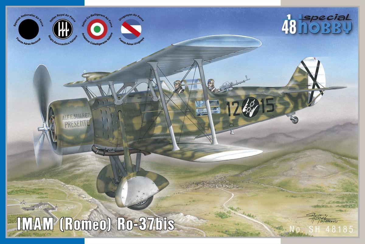 Special Hobby 1/48 lMAM (Romeo) Ro.37bis