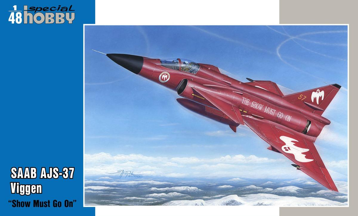 """Special Hobby SAAB AJS-37 Viggen """"Show must go on"""" 1/48"""