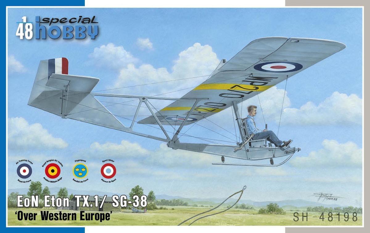 Special Hobby 1/48 EoN Eton TX.1/ SG-38 Over Western Europe
