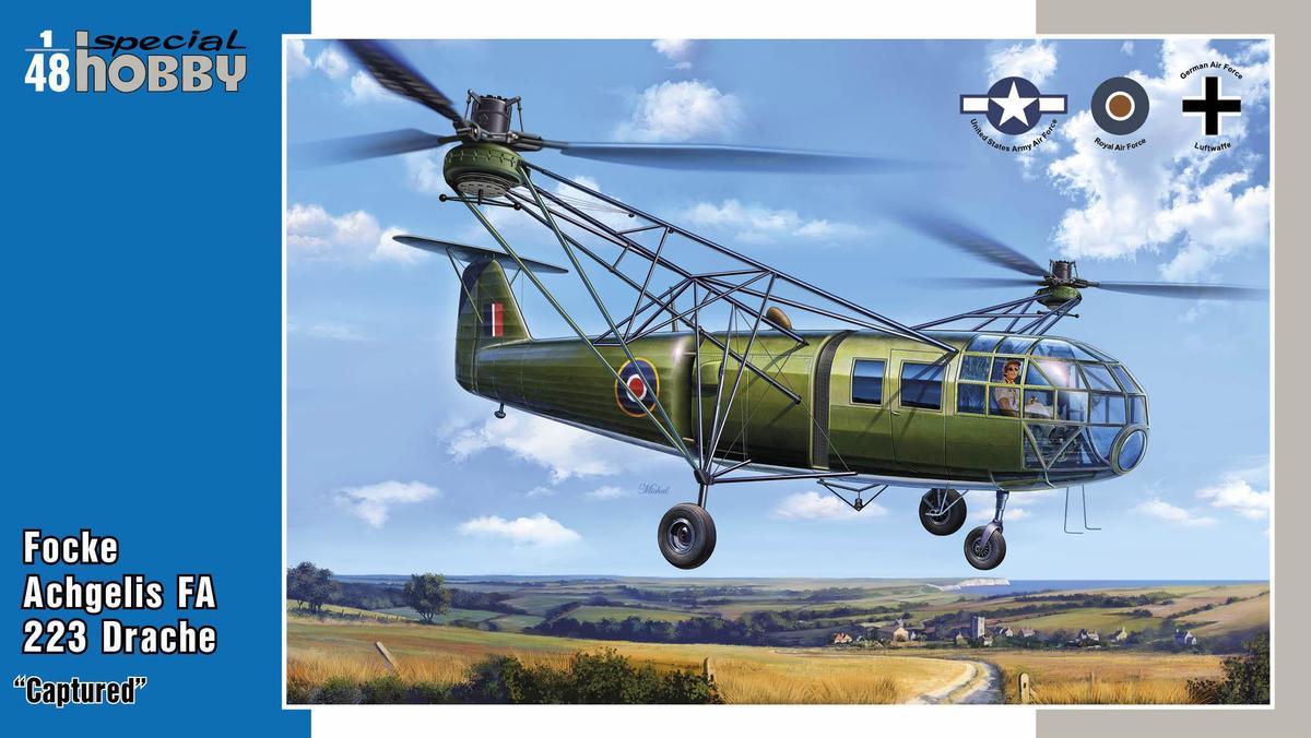 Special Hobby Focke Achgelis FA 223 Drache 'Captured'