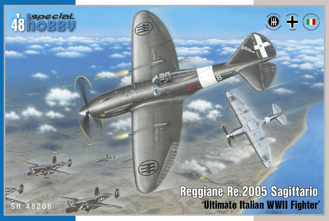 Special Hobby 1/48 Reggiane Re.2005 Sagittario 'Ultimate Italian WWII Fighter'