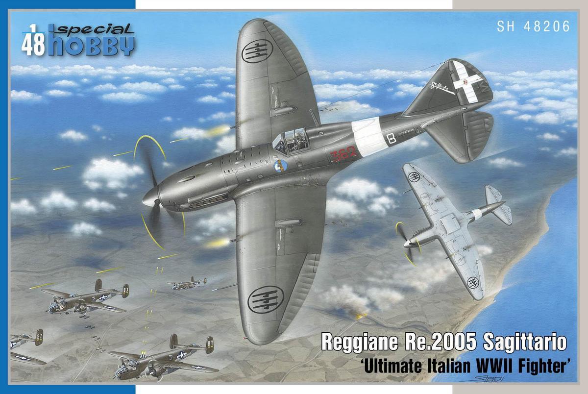 Special Hobby 1/48 Reggiane Re 2005 Sagittario Ultimate Italian WWII Fighter