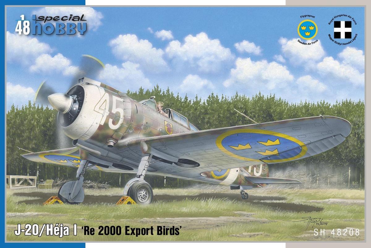 Special Hobby 1/48 J-20/Heja I Re 2000 Export Birds