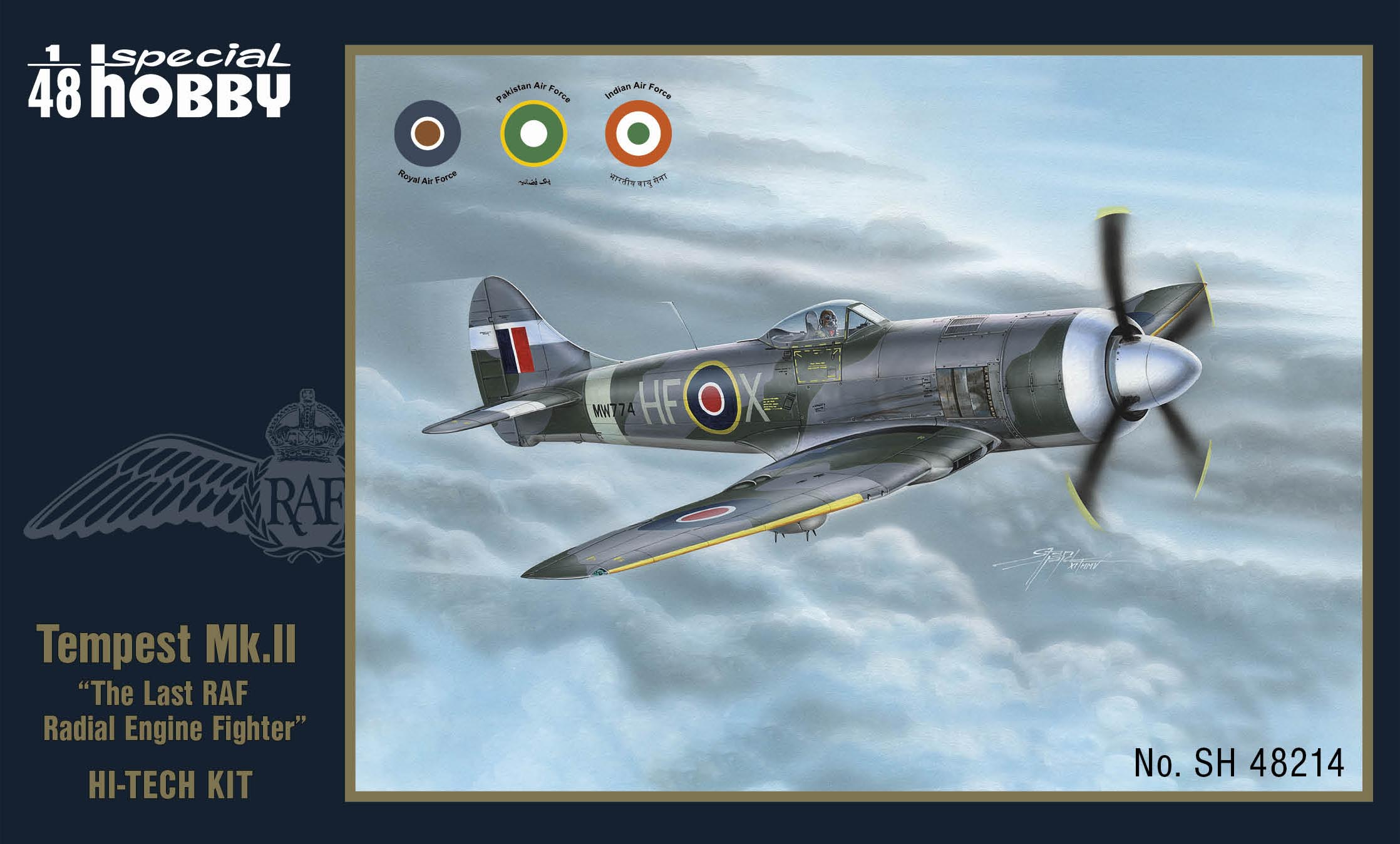 Special Hobby 1/48 Tempest Mk.II 'The Last RAF Radial Engine Fighter'