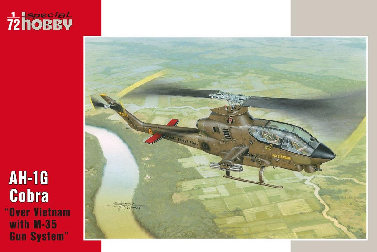 "Special Hobby AH-1G Cobra ""Over Vietnam with M-35 Gun Syste 1/72"