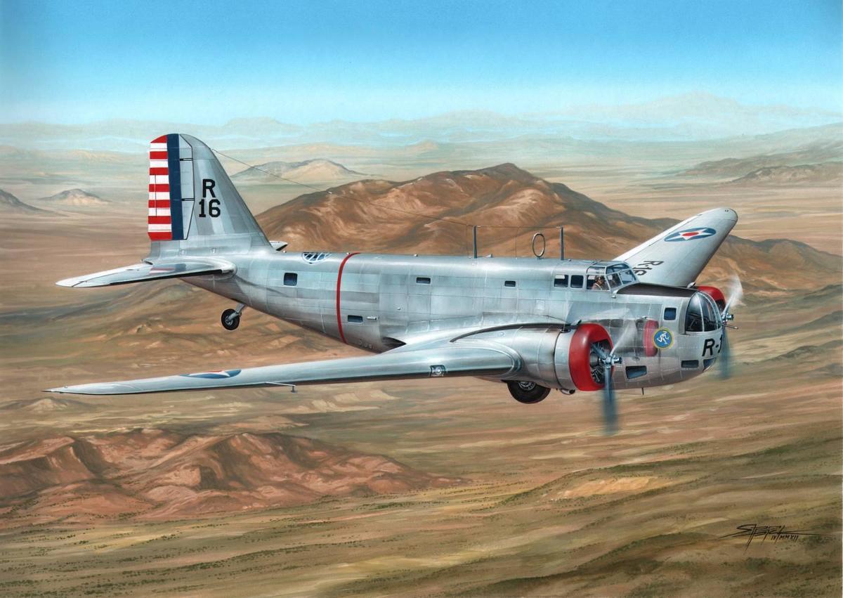 Special Hobby 1/72 B-18 Bolo Pre War Service