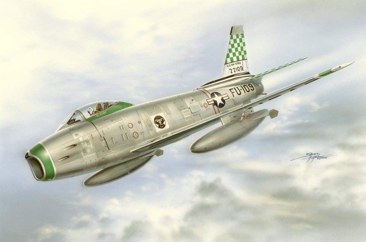 Special Hobby 1/72 F-86H Sabre Hog