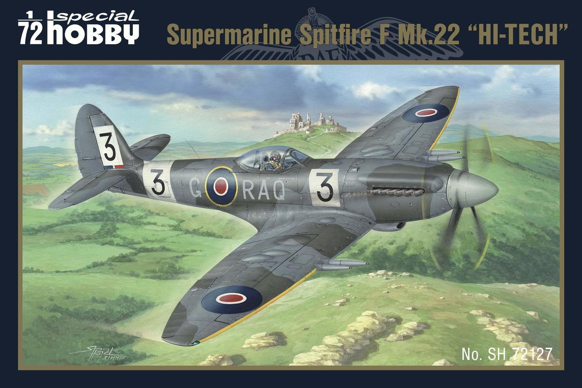 Special Hobby 1/72 Spitfire Mk.22