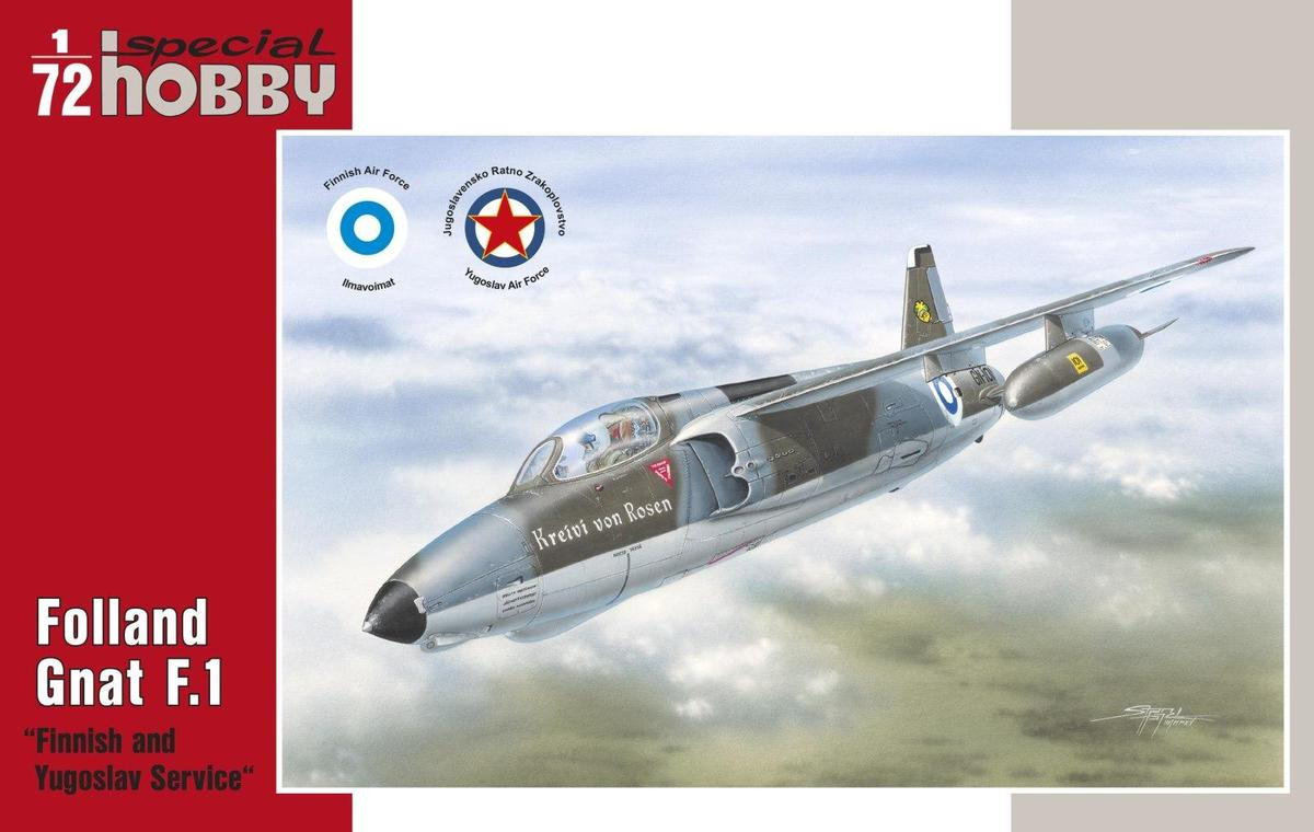 Special Hobby 1/72 Folland Gnat F. Mk.I Finnish and Yugoslav Se