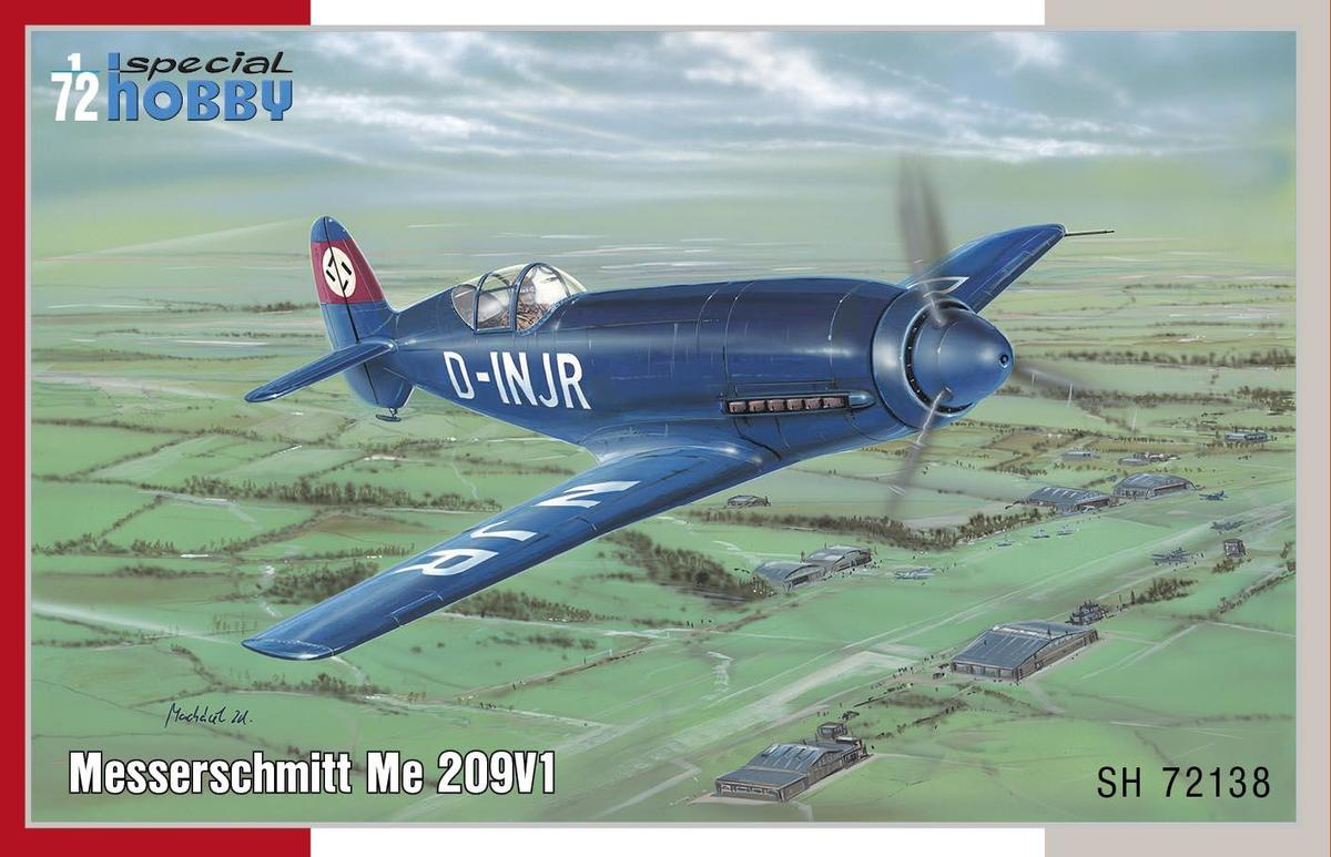 Special Hobby 1/72 Messerschmitt Me 209V-1