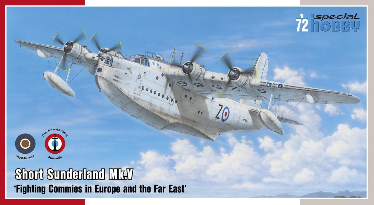 Special Hobby Short Sunderland Mk.V 'Fighting Commies in Europe and the Far East'