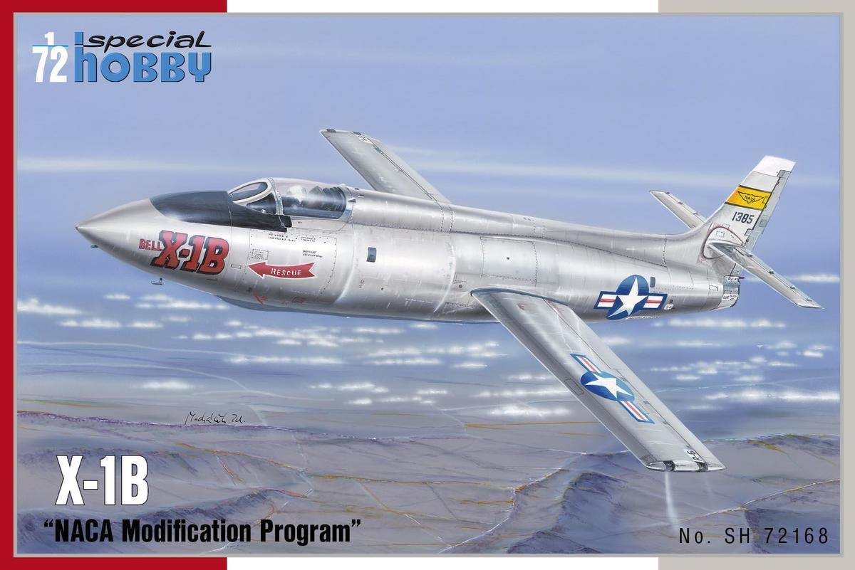 Special Hobby 1/72 X-1B NACA Modification Program