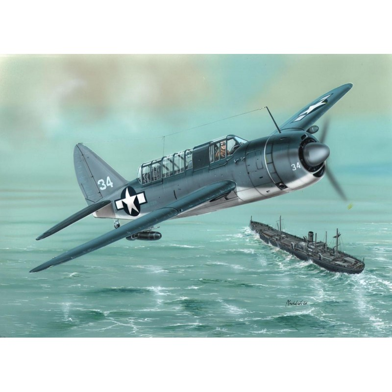 Special Hobby 1/72 SB2A-3 Buccaneer US NAVY Bomber