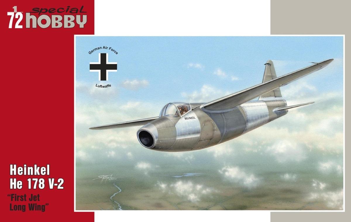 Special Hobby 1/72 Heinkel He 178 V-2