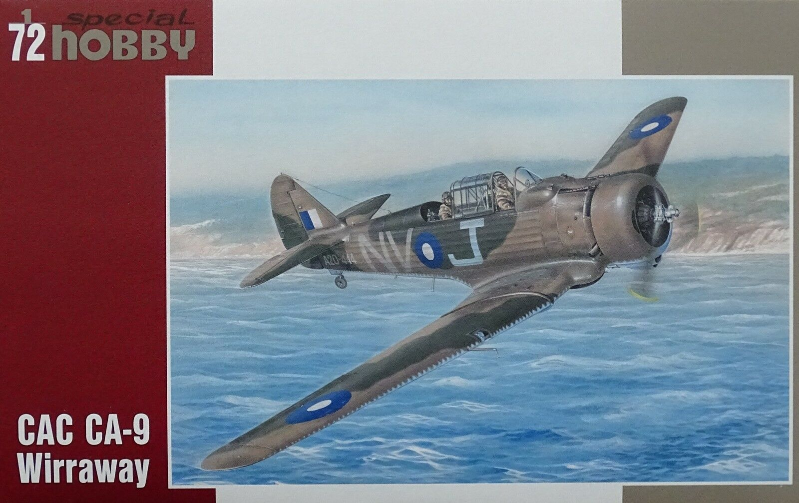 Special Hobby 1/72 CAC CA-9 Wirraway