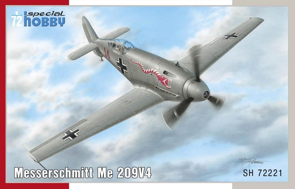 Special Hobby 1/72 Messerschmitt Me 209V-4