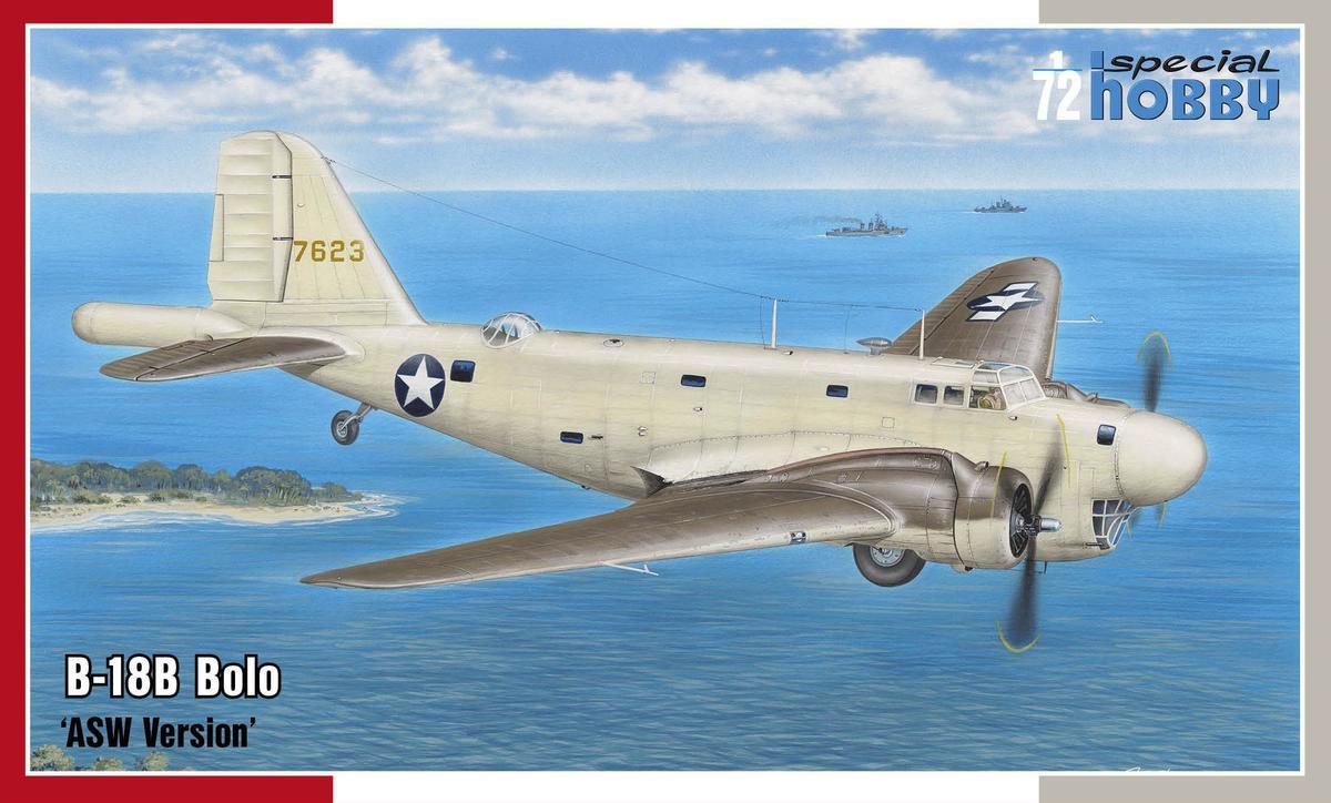 Special Hobby B-18B Bolo 'ASW Version' 1/72