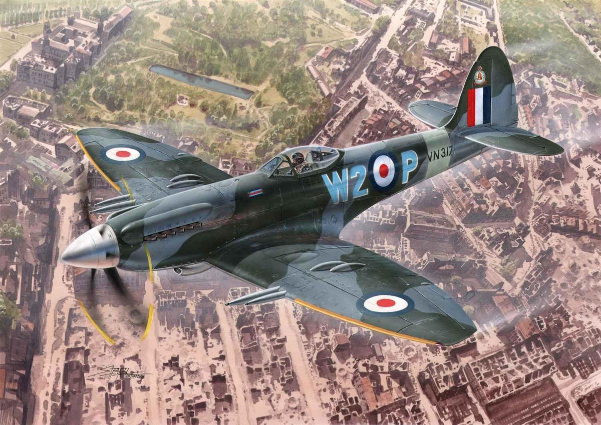 Special Hobby 1/72 Supermarine Spitfire Mk.24 Last of Best