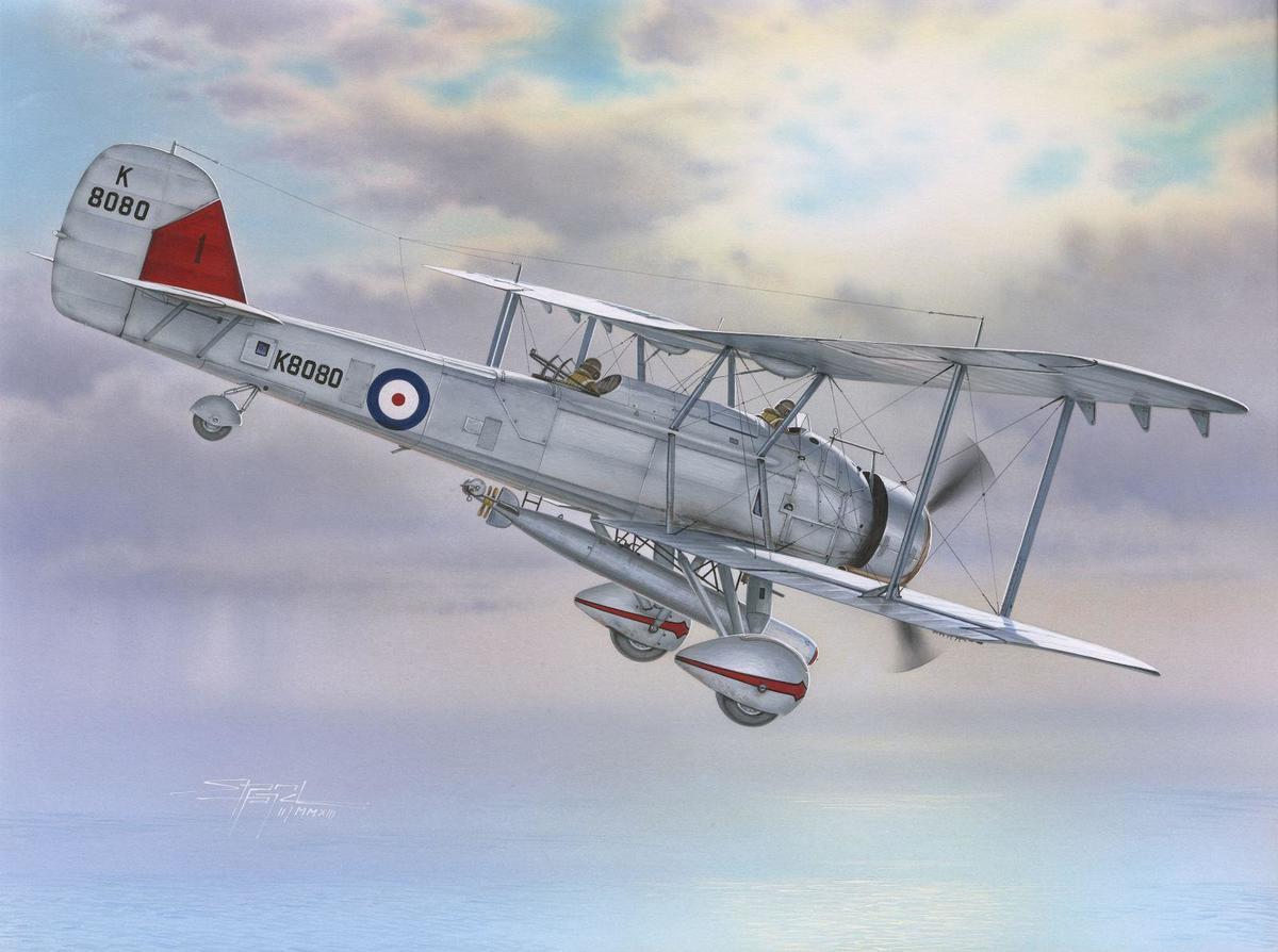 Special Hobby 1/72 Vickers Vildebeest Mk.IV Perseus Engine Vers