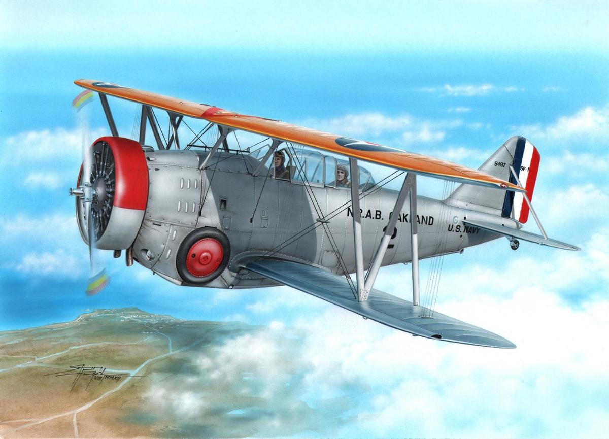 Special Hobby 1/72 SF-1/FF-2 US Navy Scout Fighter and Trainer
