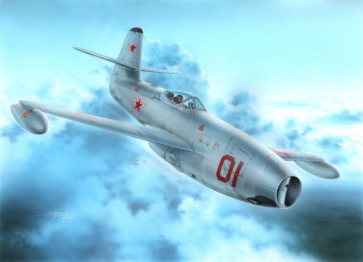 Special Hobby 1/72 Yakovlev Yak-23 Flora Red & White Stars