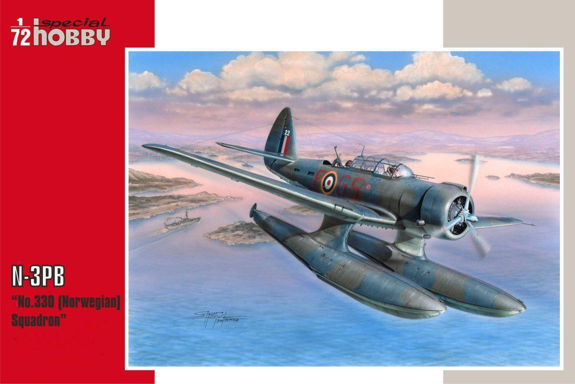 Special Hobby 1/72 N-3PB No. 330 Norwegian Squadron