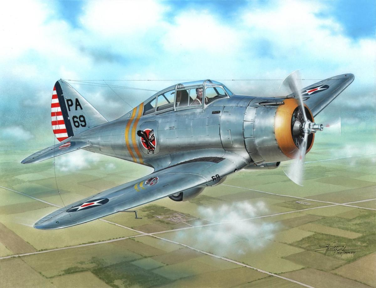 Special Hobby 1/72 P-35 Silver Wings Era