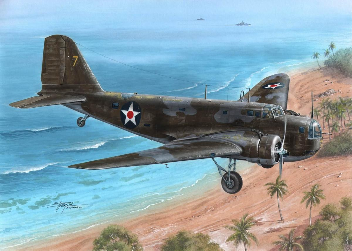 Special Hobby 1/72 B-18 Bolo WWII Service