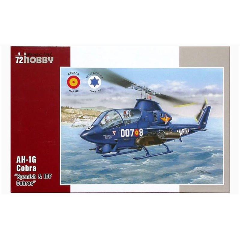 Special Hobby 1/72 AH-1G Cobra Spanish IDF Service