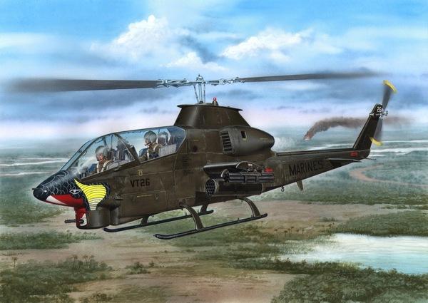 Special Hobby 1/72 AH-1G Cobra Marines