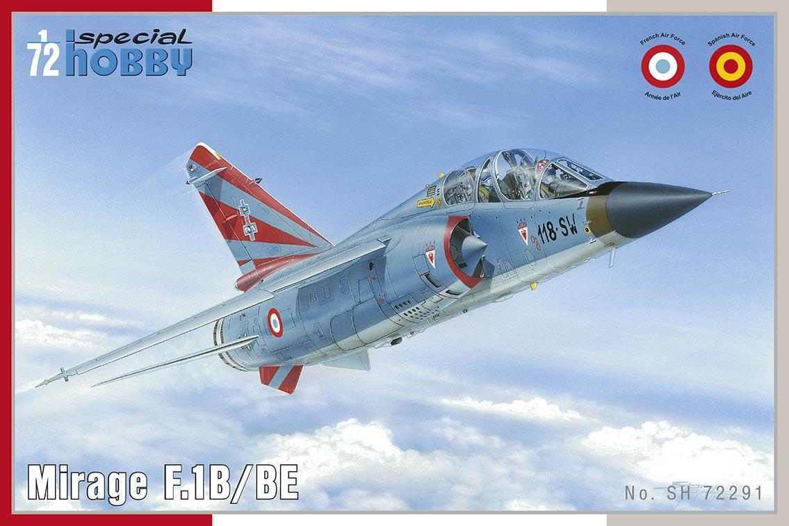 Special Hobby Mirage F.1B 1/72