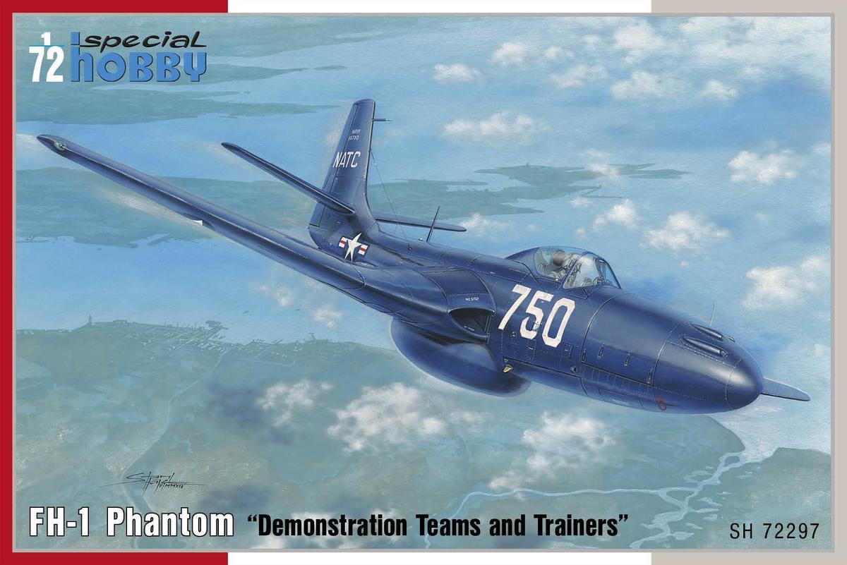 Special Hobby 1/72 FH-1 Phantom Demonstration Teams and Trainers