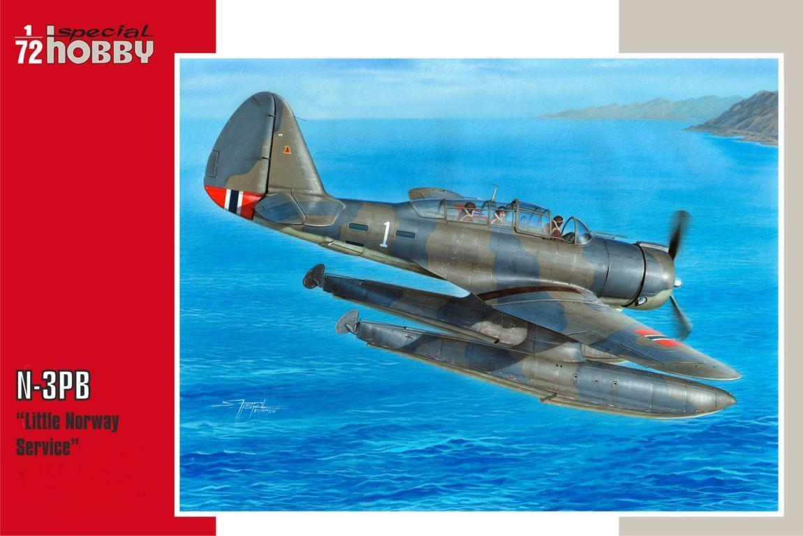 "Special Hobby N-3PB ""Little Norway service"" 1/72"