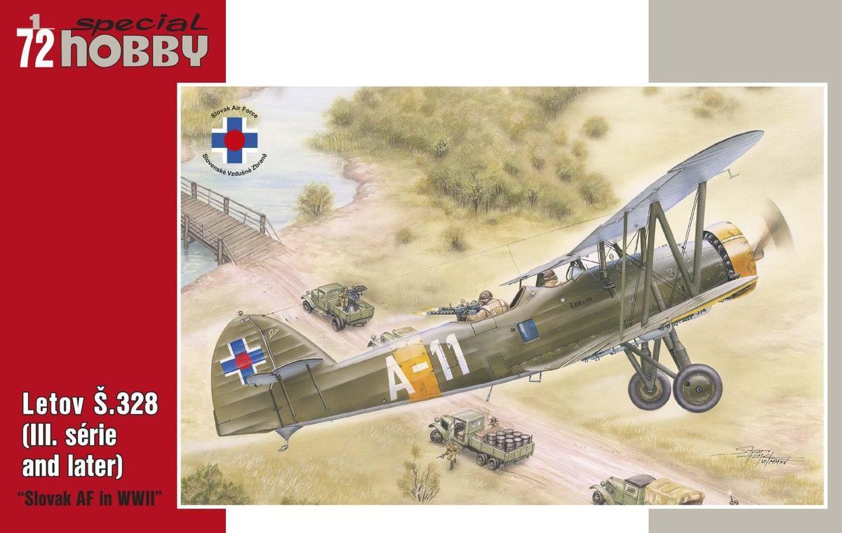 Special Hobby 1/72 Letov S.328 Slovak AF in WWII
