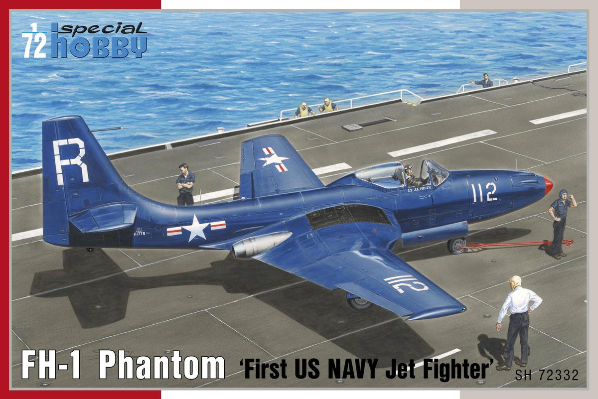 "Special Hobby FH-1 Phantom ""First US NAVY Jet Fighter"" 1/72"