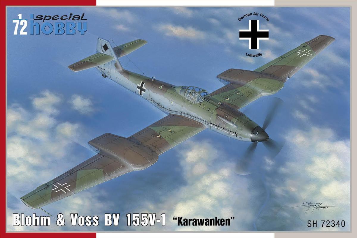 Special Hobby Blohm & Voss BV 155V-1 1/72