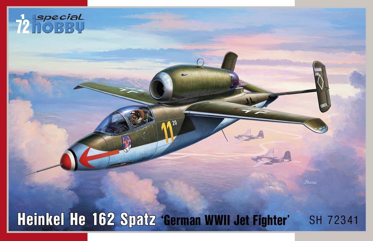 Special Hobby 1/72 Heinkel He 162 Spatz