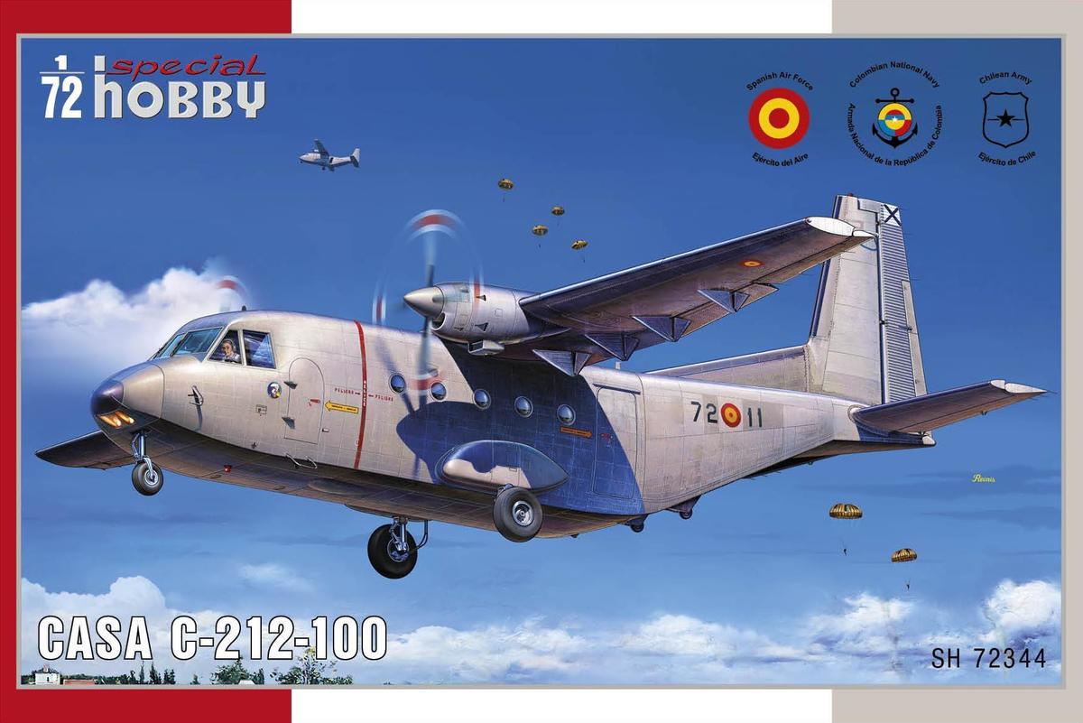 Special Hobby CASA C-212-100 1/72