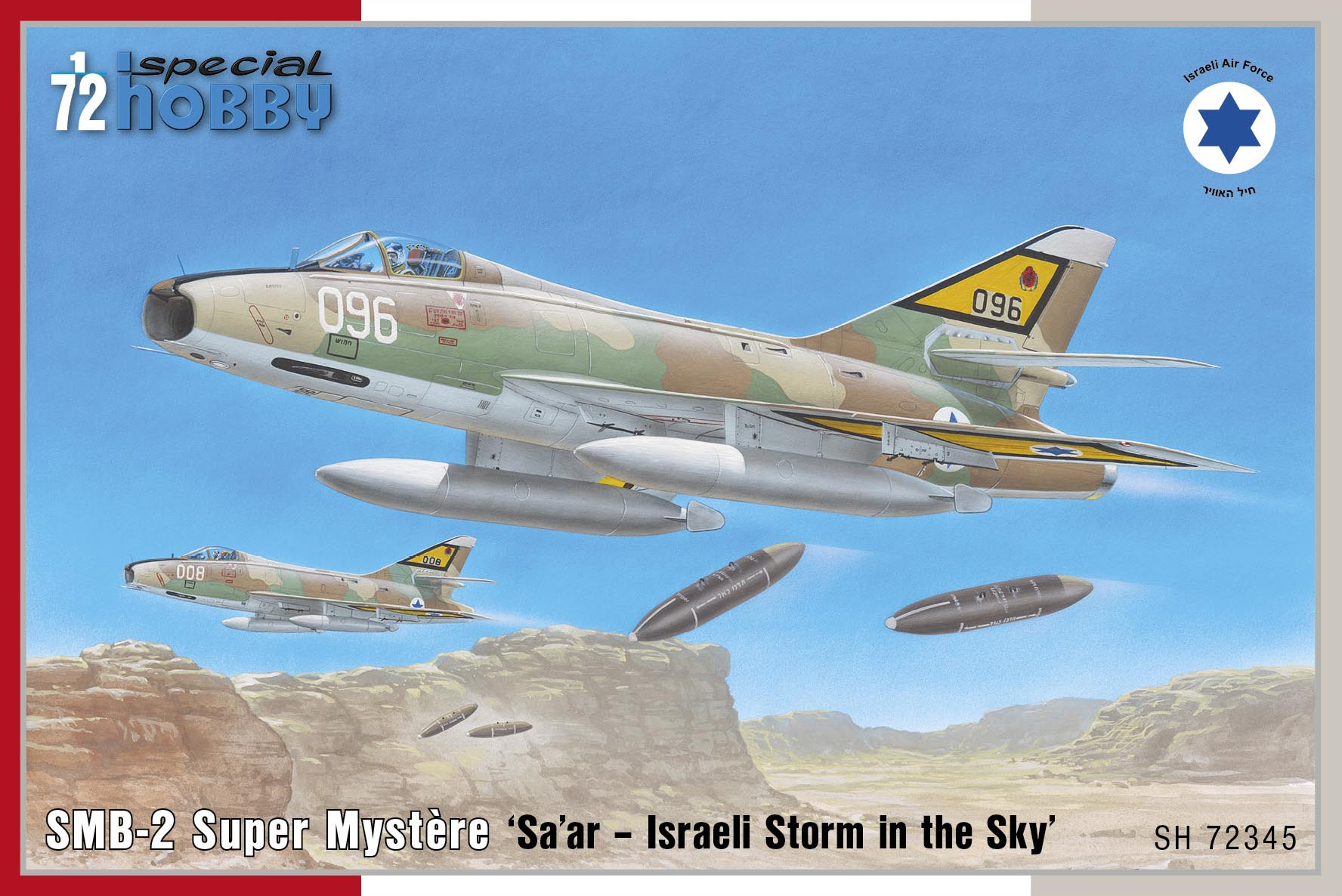 Special Hobby SMB-2 Super Mystere 'Sa'ar - Israeli Storm in the Sky'
