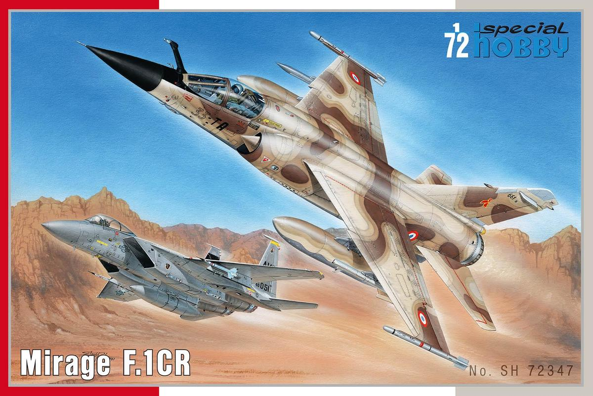 Special Hobby Mirage F.1 CR 1/72